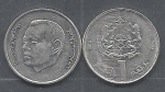 monedas de Africa - Marruecos -   1  Dh  Mohamed  VI