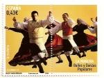 Sellos de Europa - España -  Bailes populares, la muñeira.