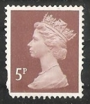 Stamps United Kingdom -  Reina Elizabeth II