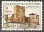 Stamps Angola -  Castelo de Belmonte