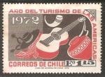 Stamps Chile -  Año del Turismo de las americas