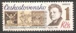 Stamps Czechoslovakia -  V. H. Brunner