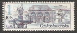 Stamps Czechoslovakia -  Prague fountains