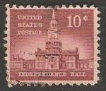 Sellos de America - Estados Unidos -  Independence Hall
