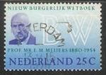 Sellos de Europa - Holanda -  Eduard Meijers
