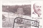 Stamps Spain -  EUROPA CEPT-TRANSBORDADOR SOBRE EL NIAGARA (28)