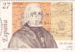 Stamps Spain -  DIA DEL SELLO-CONDE DE CAMPOMANES (28)