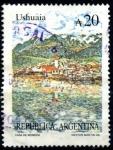Stamps : America : Argentina :  ARGENTINA_SCOTT 1635B USHUAIA. $1.60