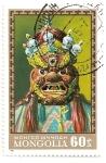 Stamps Mongolia -  Mascaras