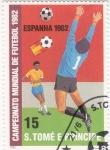 Sellos de Africa - Santo Tomé y Principe -  COPA MUNDIAL DE FUTBOL ESPAÑA-82