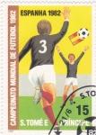 Stamps São Tomé and Príncipe -  COPA MUNDIAL DE FUTBOL ESPAÑA-82