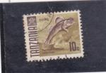 Stamps Tanzania -  PERIOPHTHALMUS SOBRINUS