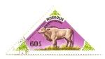 Stamps Mongolia -  Animales prehistoricos