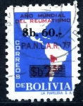 Stamps : America : Bolivia :  BOLIVIA_SCOTT 697 AÑO MUNDIAL DEL REUMATISMO. $0.25