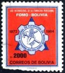 Stamps : America : Bolivia :  BOLIVIA_SCOTT 713.02 AÑO INTERNACIONAL DE LA FORMACION PROFESIONAL. $0.25