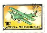Stamps Mongolia -  Aviones (P1)