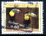 Sellos de America - Bolivia -  BOLIVIA_SCOTT 747.02 TUCAN, FAUNA EN PELIGRO