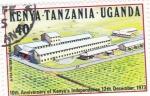 Sellos de Africa - Kenya -  10 ANIVER. INDEPENDENCIA