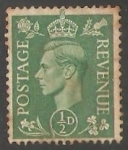 Sellos de Europa - Reino Unido -  Rei  Jorge VI