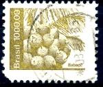 Stamps Brazil -  BRASIL_SCOTT 1940.03 BABASU. $0.20