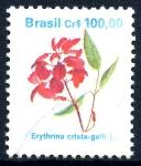Sellos de America - Brasil -  BRASIL_SCOTT 2266 ERYTHRINA CRISTA-GALLI. $0.30