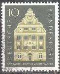 Sellos de Europa - Alemania -  500 Años de la Universidad de Friburgo, 1457-1957.