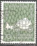 Sellos de Europa - Alemania -  Centenario de la muerte de Joseph von Eichendorff (novelista).