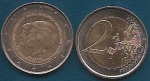 monedas del Mundo : Europa : Holanda :  Willem Alexander y 28 anivº de Beatriz Koningin der Nederlanden