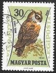 Sellos de Europa - Hungría -  250 - Ave de presa