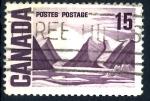 Stamps : America : Canada :  CANADA_SCOTT 463.01 BYLOT ISLAND DE LAWREN HARRIS. $0.20
