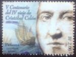 Sellos del Mundo : America : Panamá : IV Centenario del viaje de Cristobal Colón