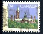 Stamps : America : Canada :  CANADA_SCOTT 925.02 BIBLIOTECA DEL PARLAMENTO. $0.20