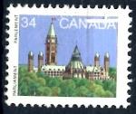 Stamps : America : Canada :  CANADA_SCOTT 925.03 BIBLIOTECA DEL PARLAMENTO. $0.20