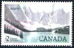 Stamps : America : Canada :  CANADA_SCOTT 936 LAGO MORAINE EN PARQUE BANFF. $1.00