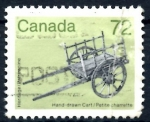 Sellos de America - Canadá -  CANADA_SCOTT 1083 CARRO HECHO A MANO. $0.40