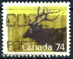 Stamps : America : Canada :  CANADA_SCOTT 1177 WAPITI. $0.70