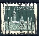 Stamps : America : Canada :  CANADA_SCOTT 1194A BLOQUE OESTE DEL PARLAMENTO. $0.20