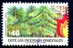 Sellos de America - Chile -  CHILE_SCOTT 704 BOSQUE. $0.40