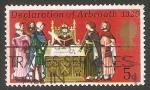 Sellos de Europa - Reino Unido -  Signing the Declaration of Arbroath