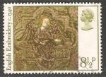 Stamps United Kingdom -  Navidad 1976