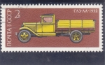 Stamps : Europe : Russia :  CAMION