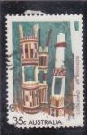Stamps : Oceania : Australia :  ARTESANIA