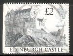 Sellos de Europa - Reino Unido -  Castillo de Edimburgo