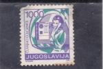 Stamps : Europe : Yugoslavia :  CONVERSACIÓN TELEFONICA