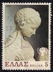 Sellos de Europa - Grecia -  Estatua de una chica