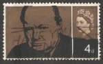 Stamps United Kingdom -  Winston Churchill