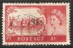 Stamps United Kingdom -  Caernarvon Castle
