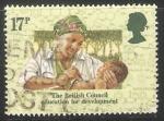 Sellos de Europa - Reino Unido -  Niño nigeriano