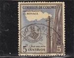 Stamps Colombia -  ACERIAS PAZ DEL RIO