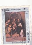 Stamps : Asia : Cambodia :  LA VIRGEN Y EL NIÑO